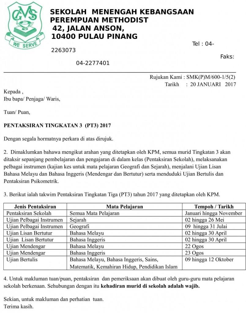 2017 mgs PT3 Surat kepada Ibu Bapa-01