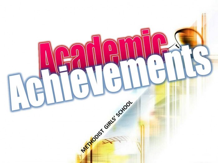 my achievements in school